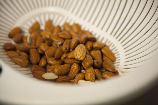 Jacob Deleon creator of Origin Almond  uses organic, unpasteurized Spanish almonds to produce his almond juices.