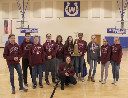 Wyoming Middle School's Power of the Pen Team.