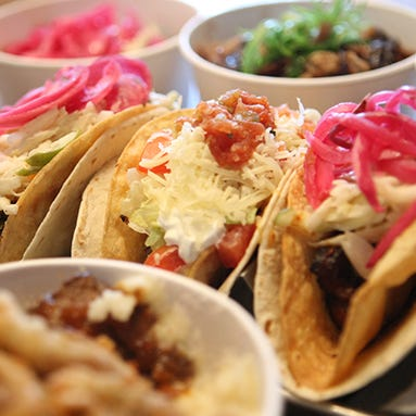 Tacos from Agave and Rye in Covington
