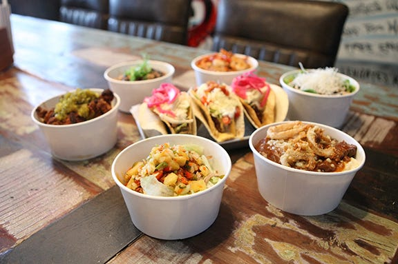 Tacos and Bowls from Agave & Rye in Covington