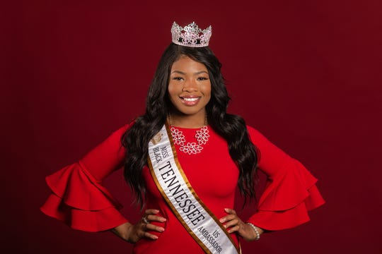 Austin Peay's Sierra Salandy will represent Tennessee at the Miss Black US Ambassador scholarship pageant this summer in Atlanta, Georgia. She's serving as legislative intern in state Sen. Brenda Gilmore's office at the Tennessee General Assembly.