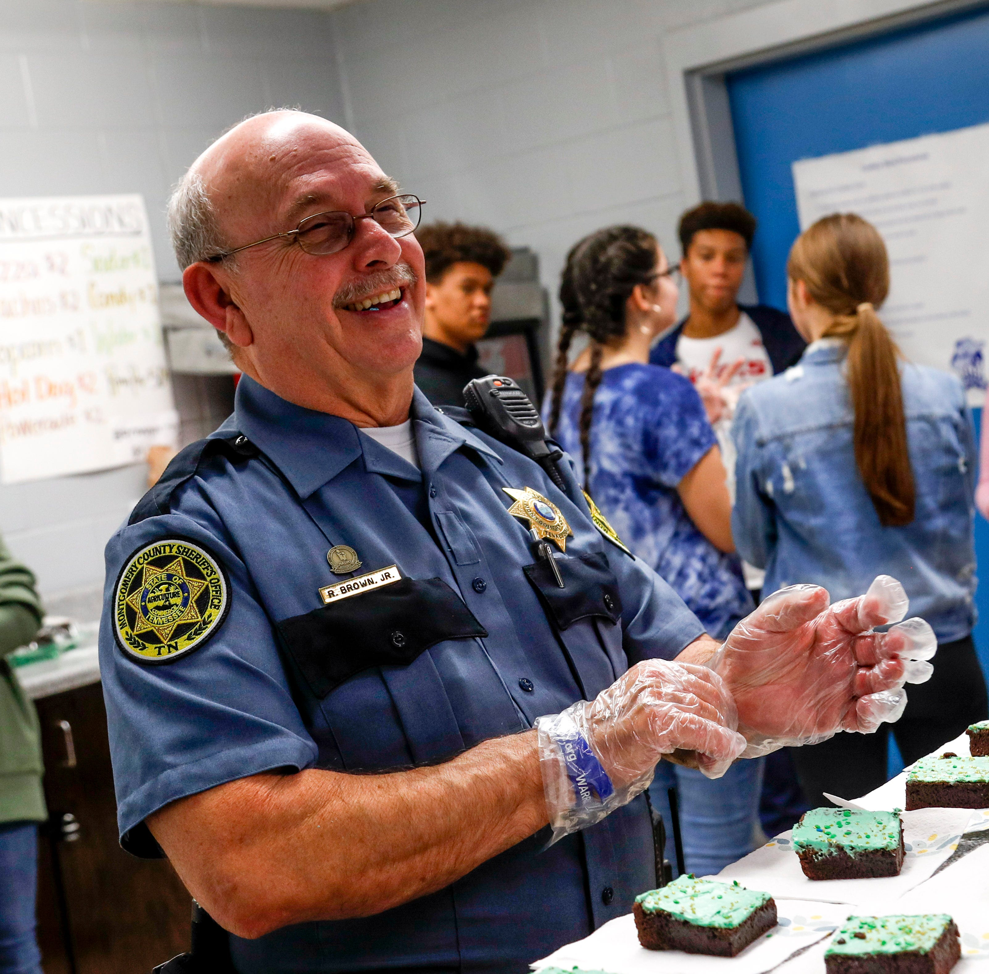 SRO holds his final bake sale, after raising $50,000 for students