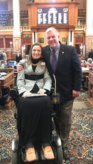 Angie Hulsebus, president of the Iowa Chapter of the United Spinal Association, has done as much as anyone I know to advance the cause of persons living with spinal injuries.