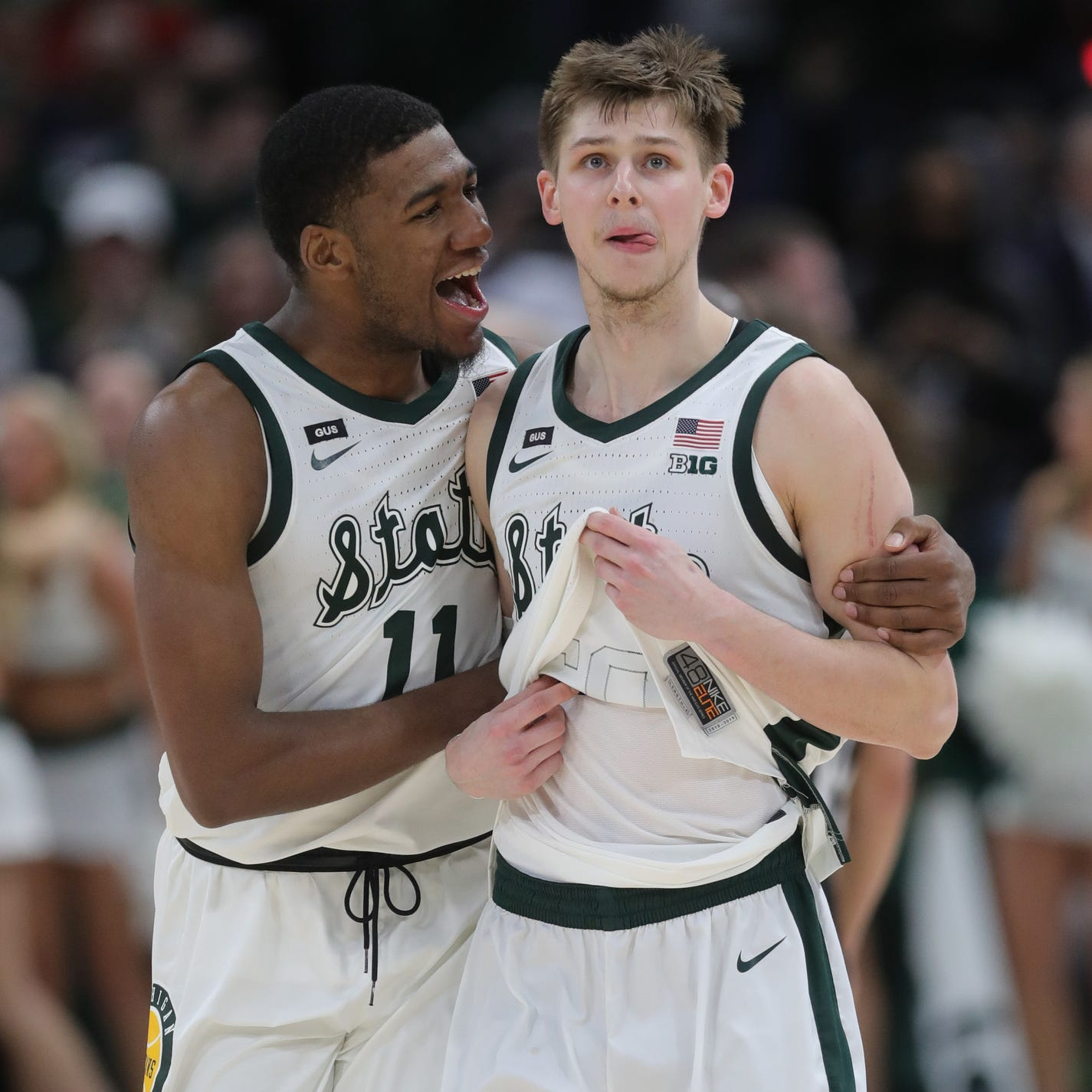 Michigan State's Aaron Henry rises to challenge vs. Big Ten freshman of year