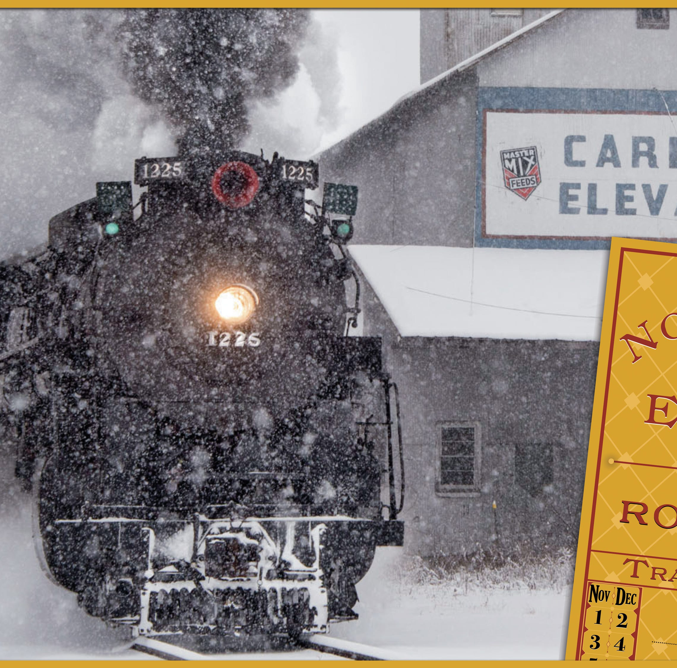 Tickets for Christmas trips on 'Polar Express' train go on sale