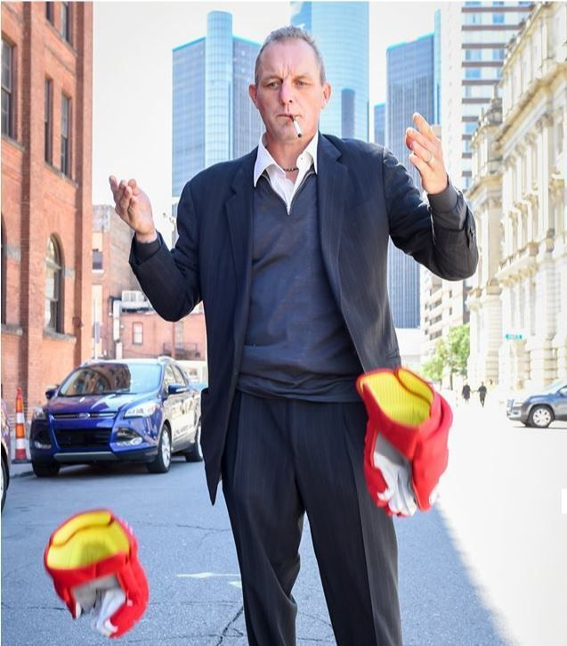 Darren McCarty, who has been doing stand-up comedy dates since last year, opens for ventriloquist-comic Paul Zerdin on Saturday in Pontiac.
