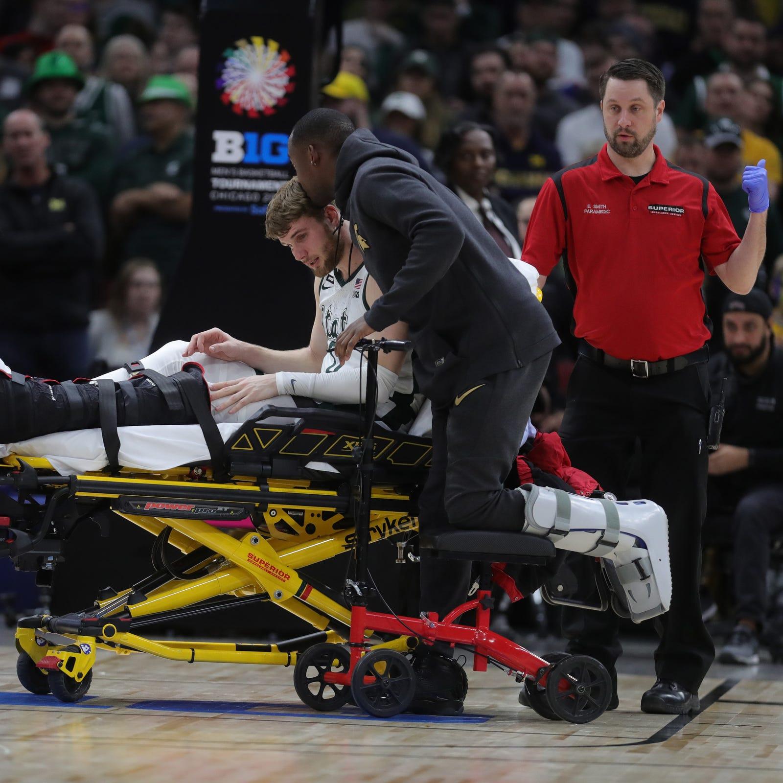 Michigan State basketball tough as nails. Just like Kyle Ahrens