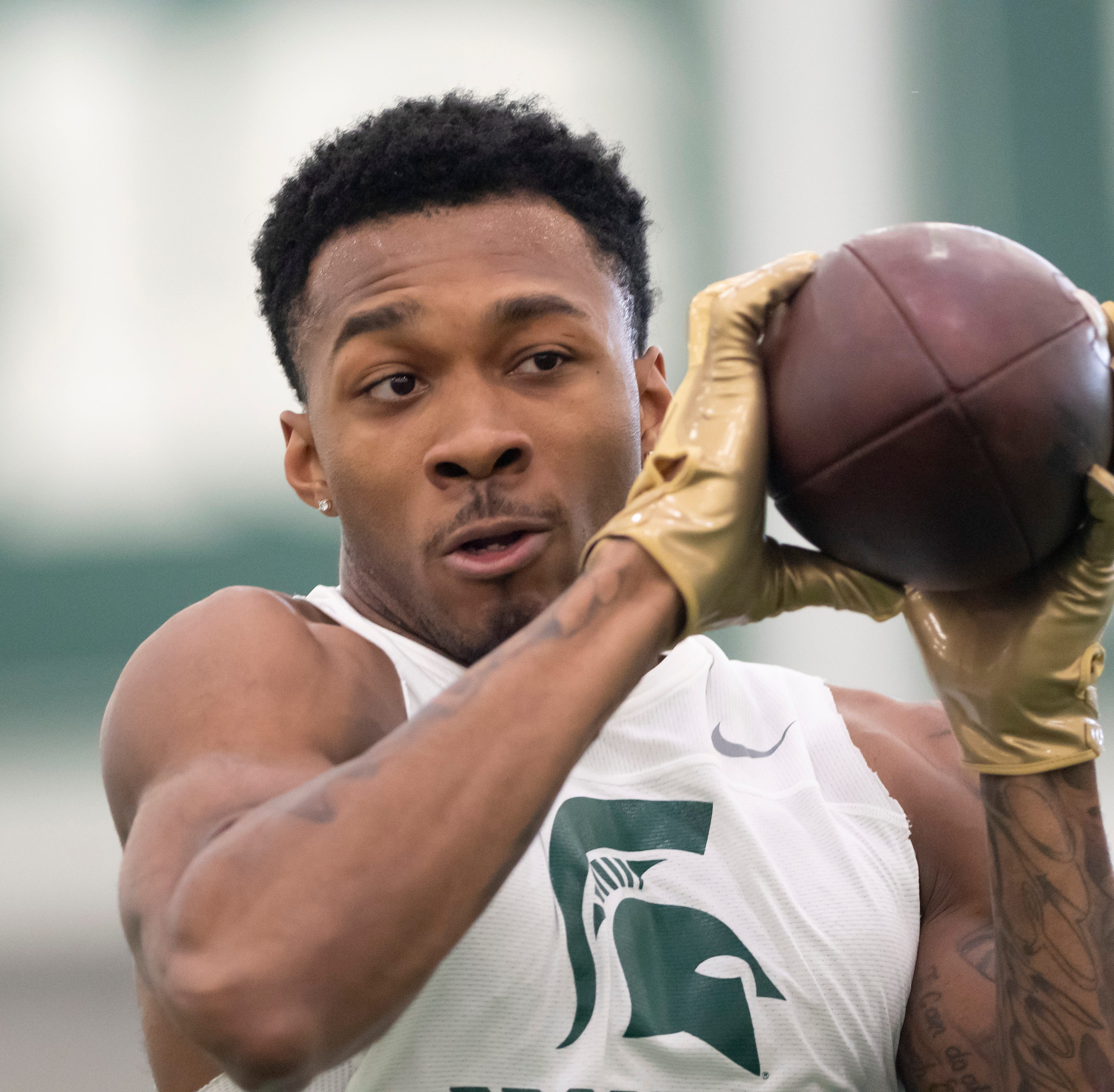 Redemption, return major themes at MSU pro day