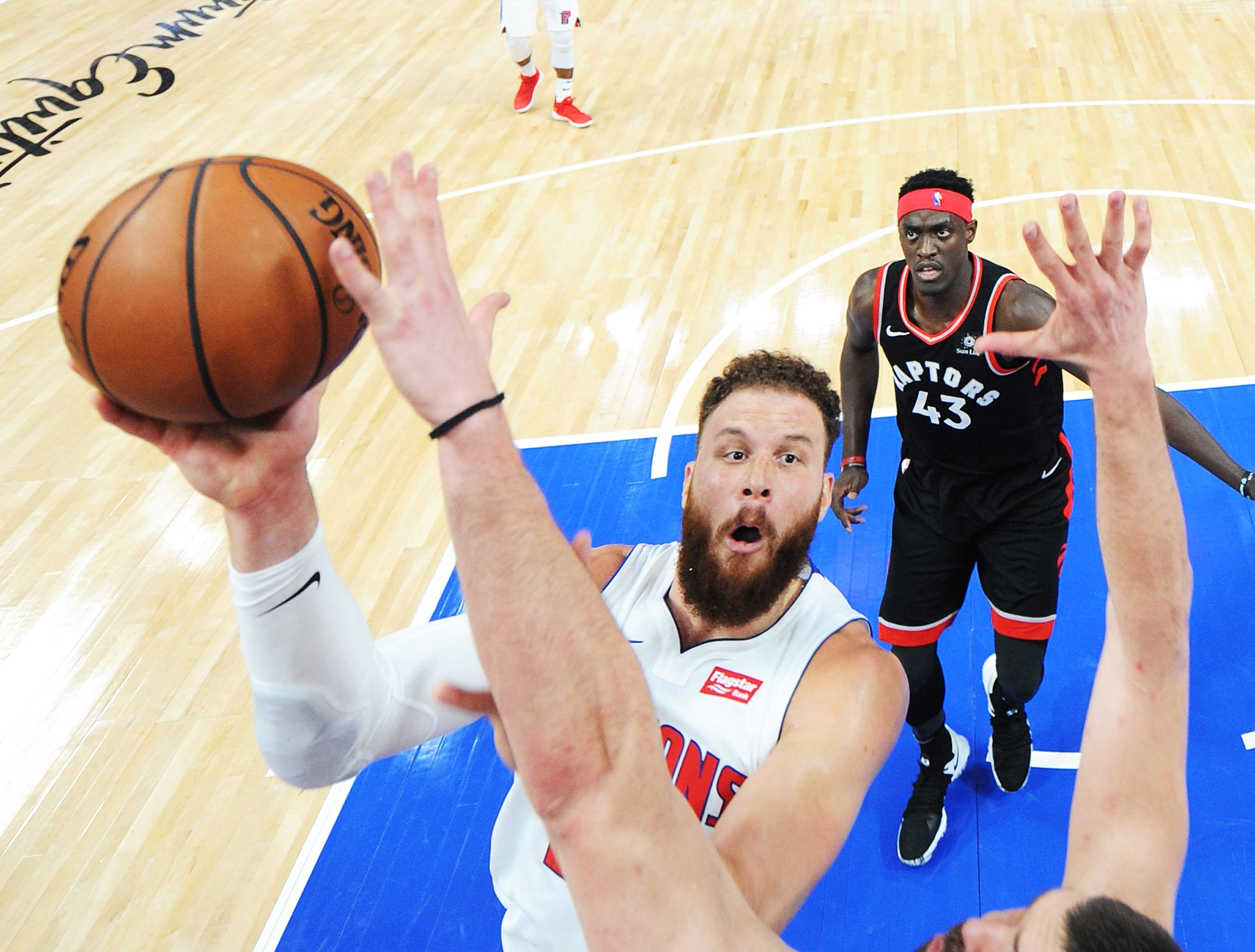 Casey rests Griffin to set Pistons up for playoff run