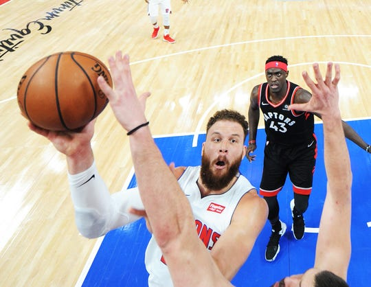 The Pistons decided to rest Blake Griffin for Monday's matchup in Cleveland, marking just the third game — the previous two were double-digit losses — that Griffin has missed this season.