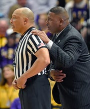 Interim coach Tony Benford has been guiding LSU during Will Wade's suspension.