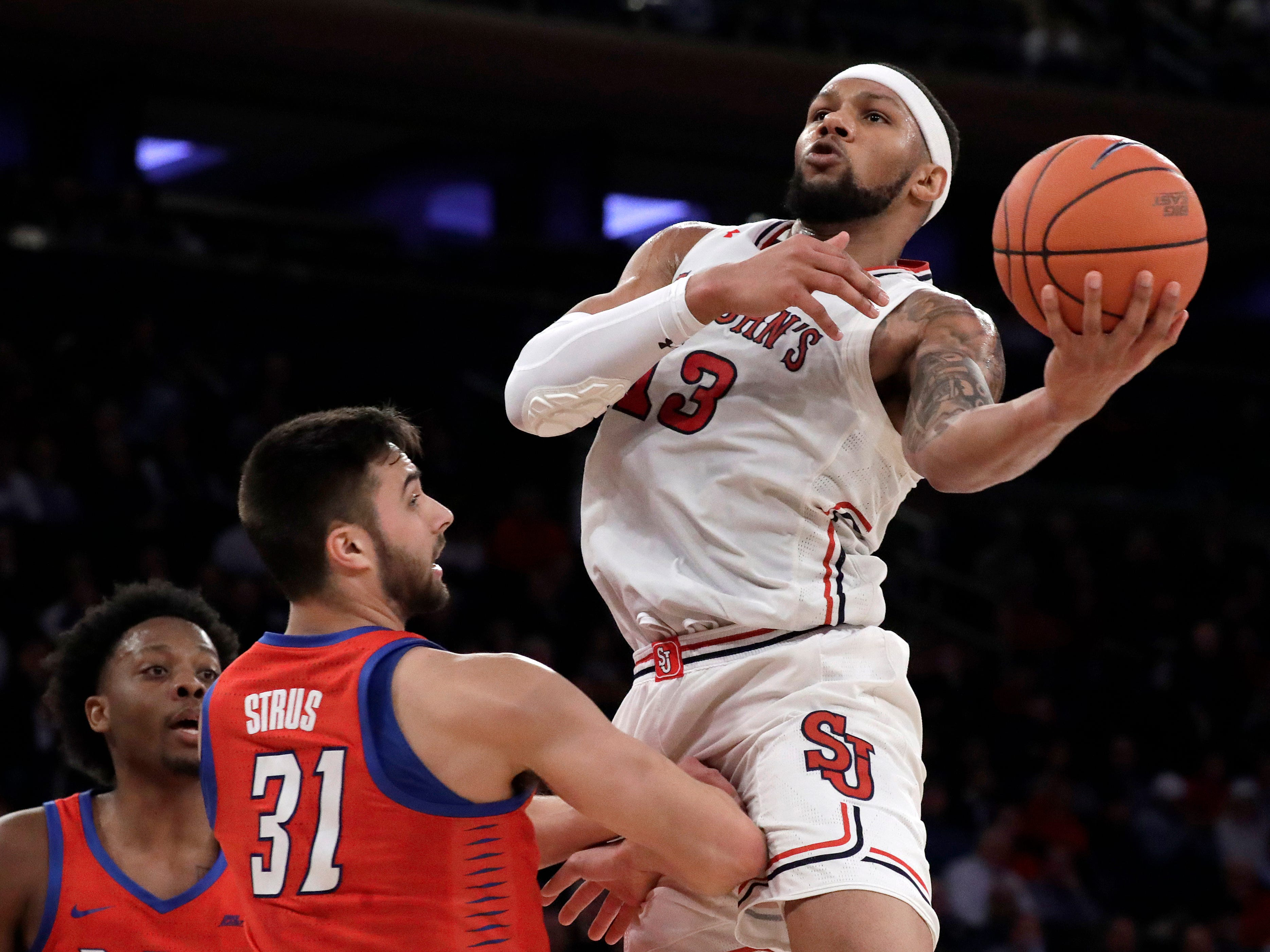 Marvin Clark II, 6-7 forward, senior, St. John's (Michigan State): Another player who helped the Spartans reach the Final Four in 2015, Clark averages 10.8 points and 5.4 rebounds per game for the Red Storm. He's started 32 of 33 games, and 65 of 66 over two seasons at St. John's.