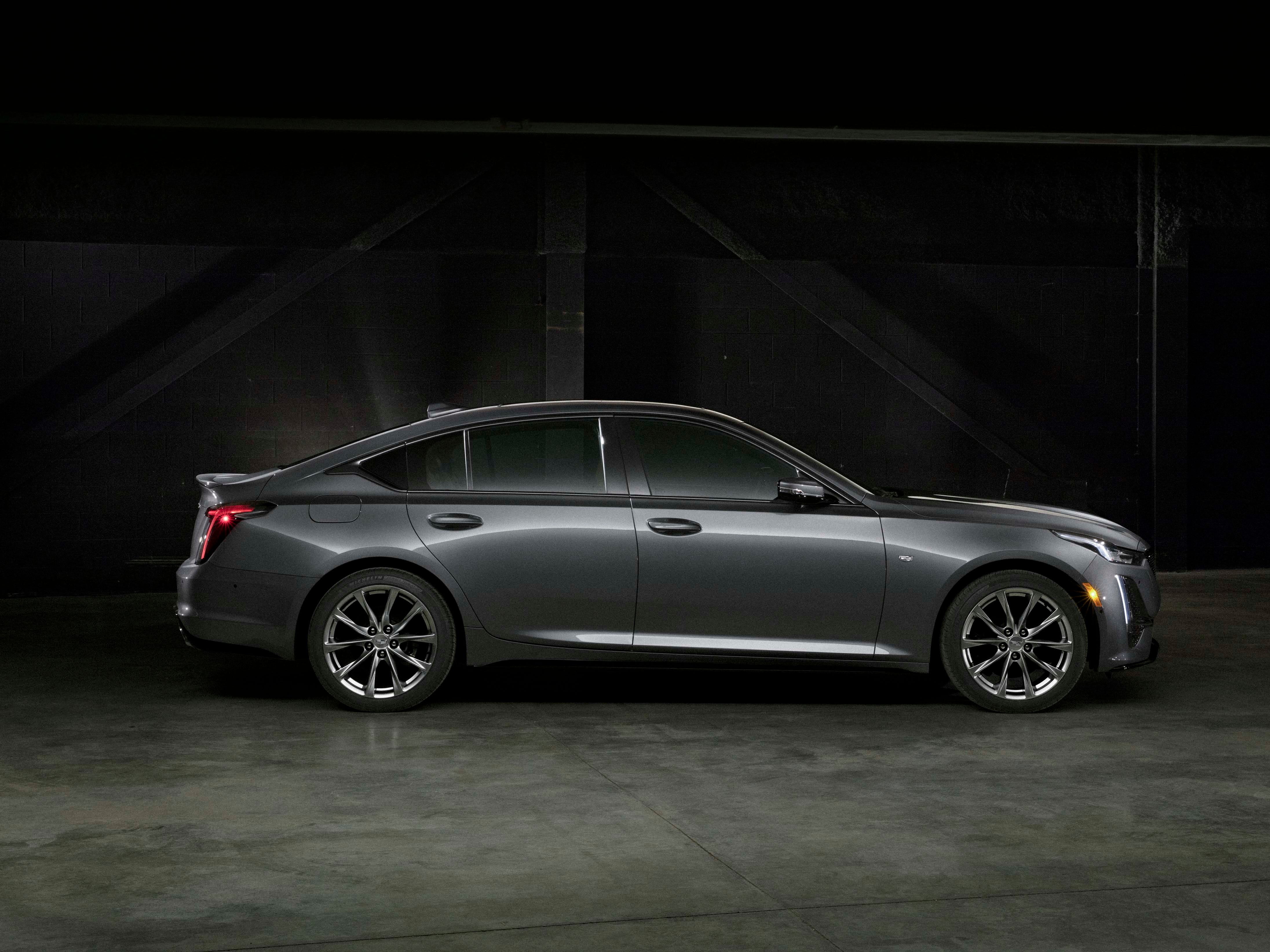 The 2020 Cadillac CT5 slots below the CT6 sedan in Caddy's sedan lineup. With the CT6 due to go away in early 2020, the CT5 will be one of two cars available, including a CT4 later in 2019.