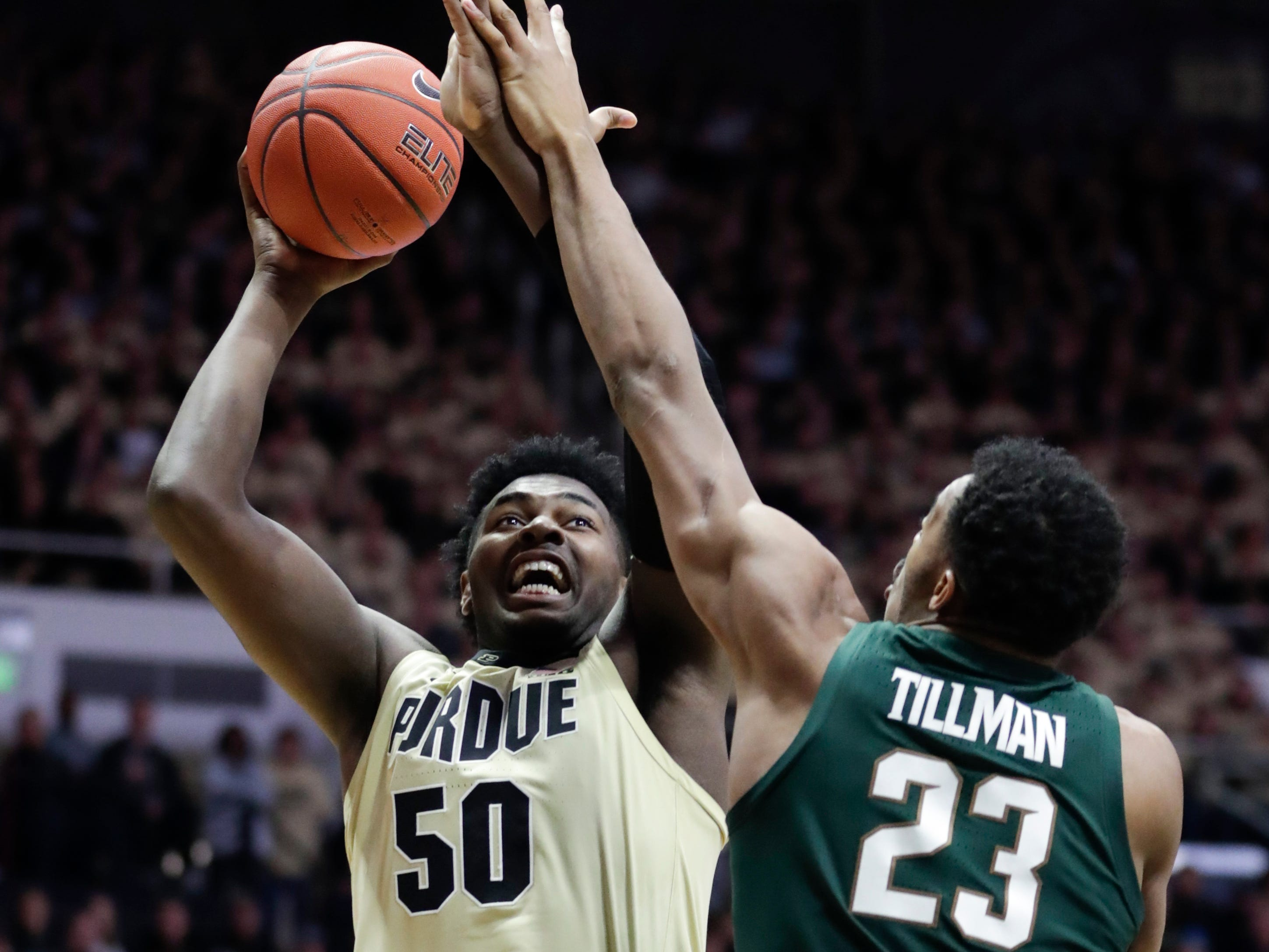 Trevion Williams, 6-9 forward, freshman Purdue (Detroit Henry Ford Academy): Williams started eight games for the Big Ten regular-season co-champion, averaging 5.5 points and 3.9 rebounds while shooting 55.7 percent from the floor. He had a pair of double-doubles.