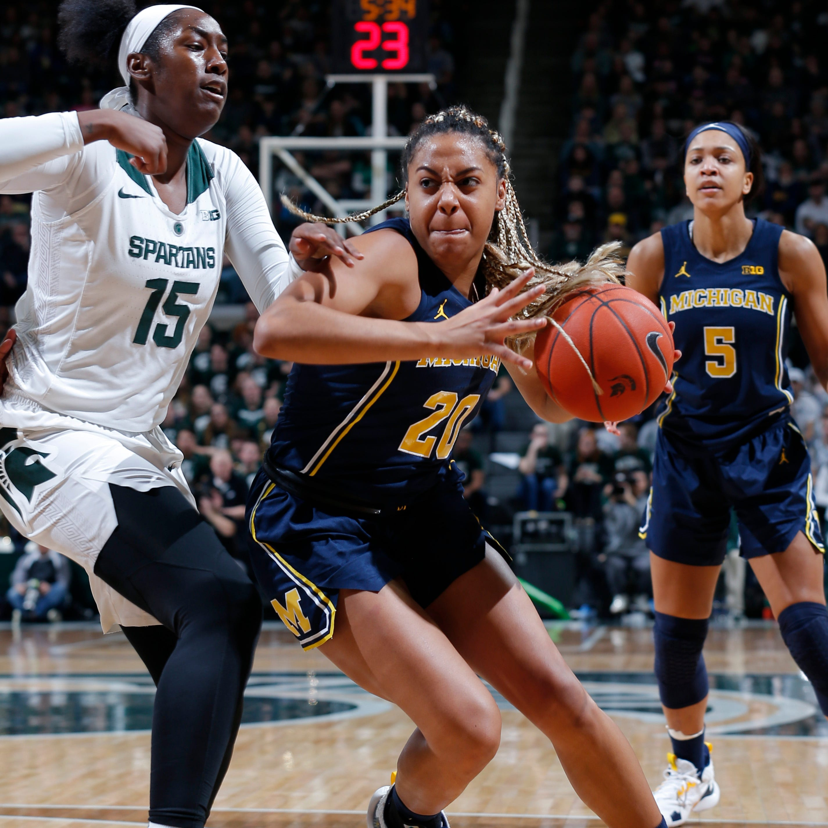 ESPN leaks women's bracket; Central Michigan plays Michigan State, Michigan also in