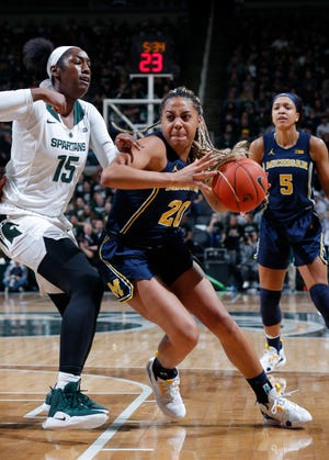 Michigan and Michigan State earned spots in the NCAA Women's Tournament.