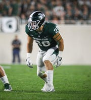 Former Michigan State linebacker Jon Reschke  will take part in MSU's pro day on Monday.