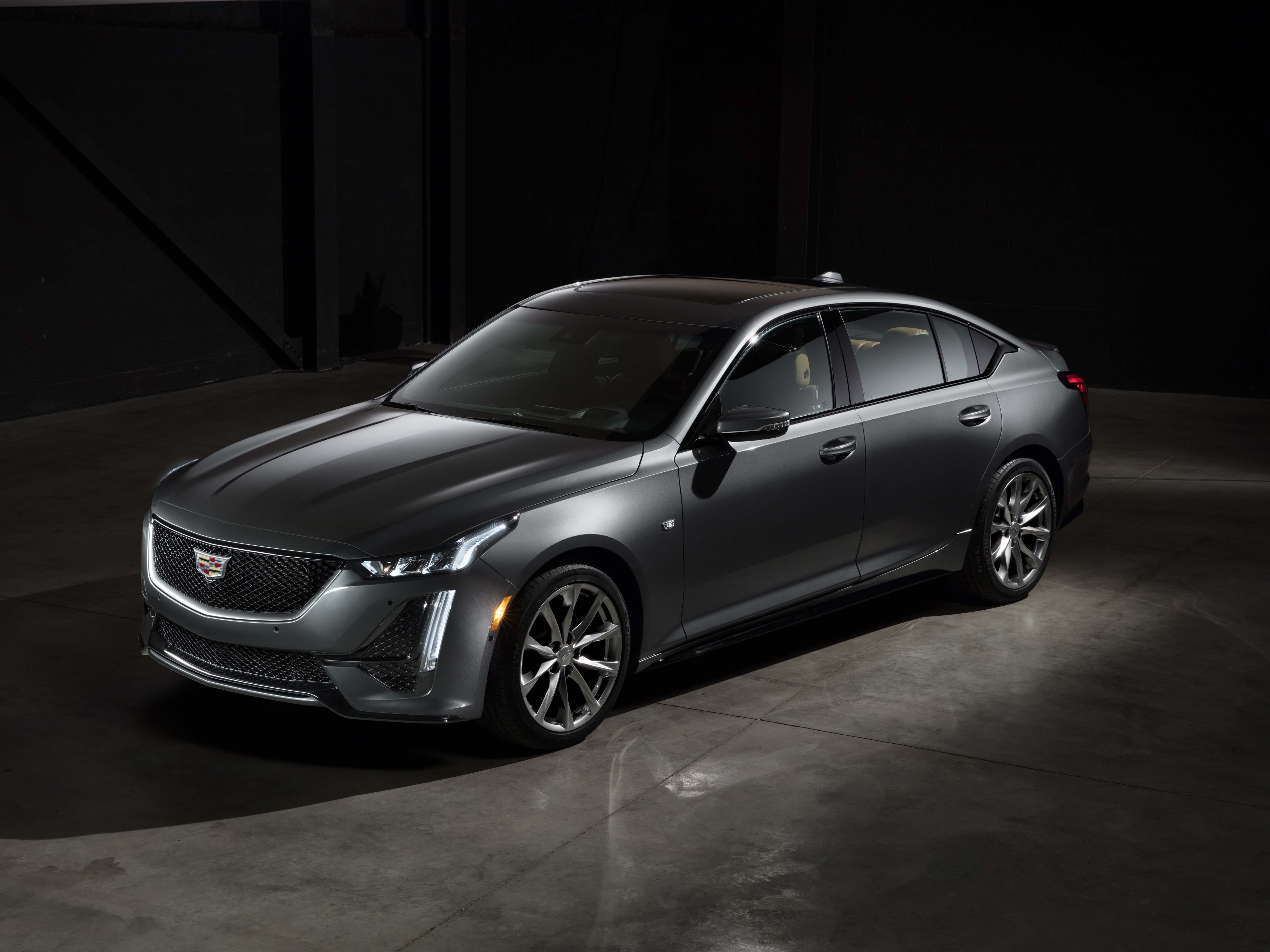 The 2020 Cadillac CT5 will come with tow engine options - a 2.0-liter turbo-4 or a 3.0-liter turbo-6. The car is available in Sport of Premium trims.