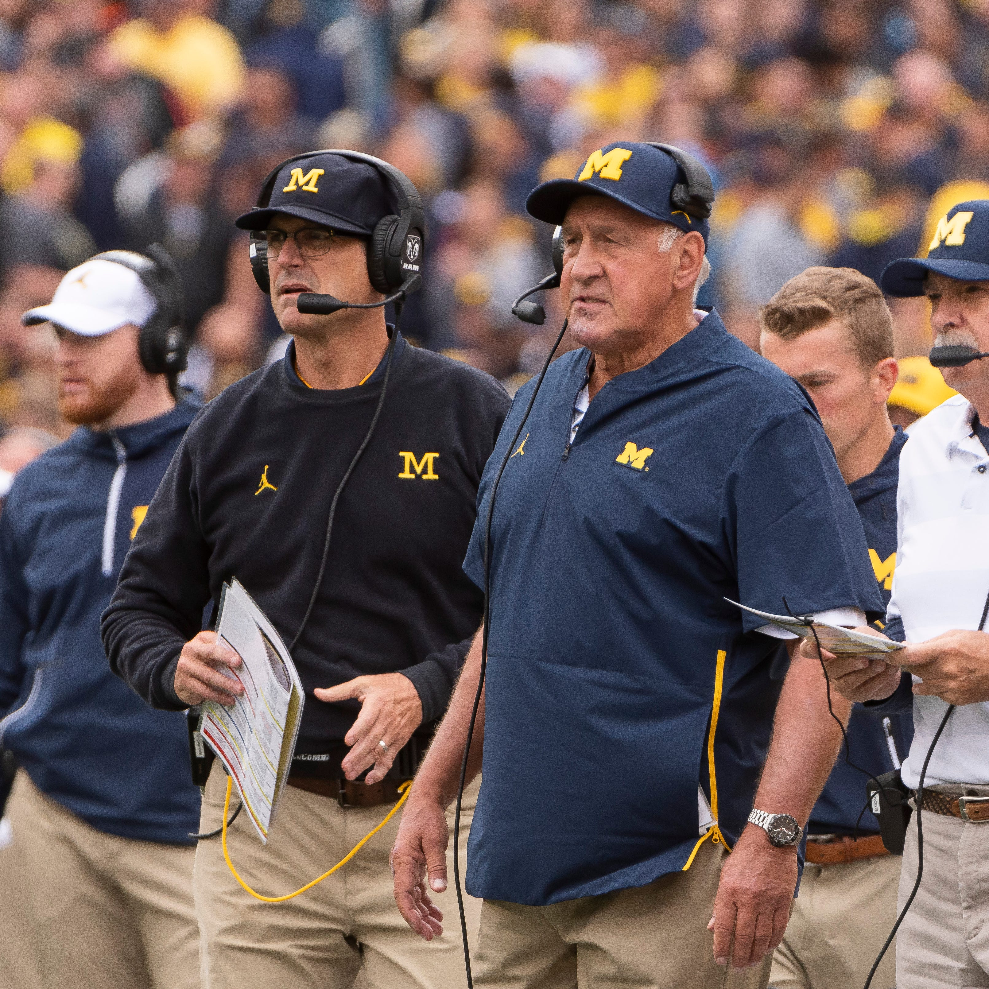 Jim Harbaugh on departed Greg Mattison: We won't be exchanging Christmas cards