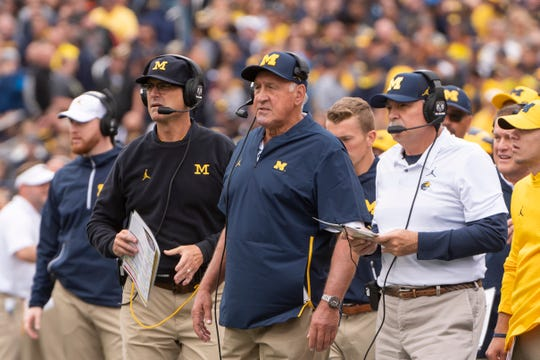 Jim Harbaugh and Greg Mattison