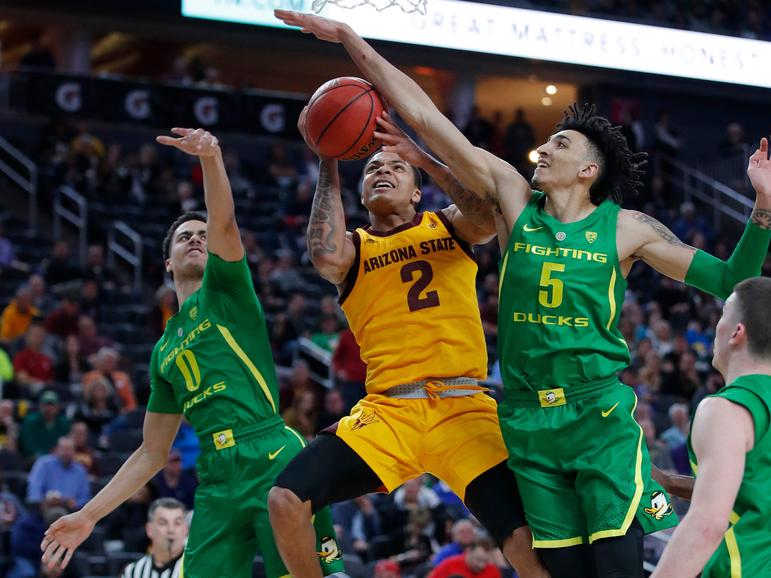 Rob Edwards, 6-4 guard, RS junior, Arizona State (Detroit Cass Tech): Edwards sat out last season after transferring from Cleveland State, but has been a key cog in Tempe this season, starting 19 of 26 games he's played. He's averaging 11.3 points and draining 39.4 percent of his 3-point attempts, scoring in double figures in seven of the last eight games he's played, including a season-high 28 Feb. 16 against Utah.