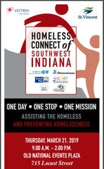 Homeless Connect of Southwest Indiana is an annual event providing a wide array of services all in one location for homeless individuals and families.