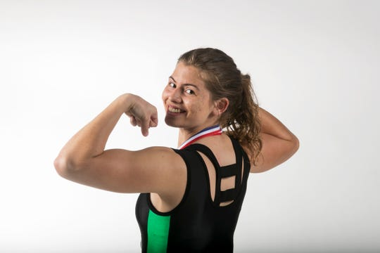 Katelyn Brunson, Fort Myers, Weightlifting, Winter All-Area athletes 2019