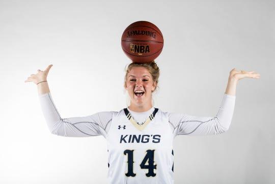 Rebekah Bergquist, SFCA, Girls Basketball, Winter All-Area athletes 2019