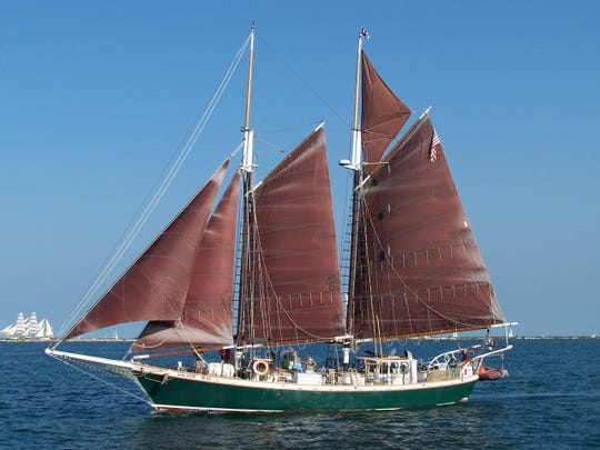 The Inland Seas will be part of the Nicolet Bank Tall Ships festival on July 26-28.