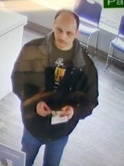 Green Bay Police are searching for a man in connection with three strong-arm robberies.