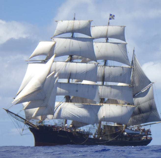 Here's your lineup of tall ships setting sail for Green Bay in July