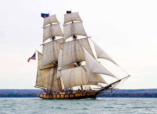 The U.S. Brig Niagara will be part of the Nicolet Bank Tall Ships festival July 26-28.