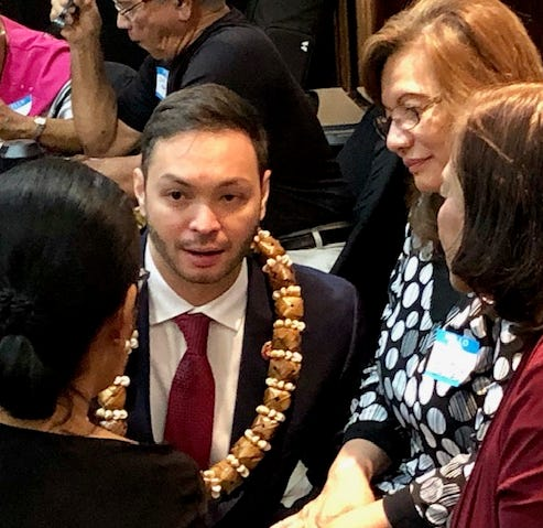 Delegate points to national groups' neglect of Guam, territories