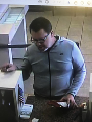Unknown bank robbery suspect