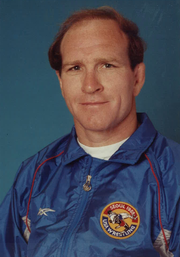 From 1996: Dan Gable as U.S. Olympic Freestyle coach.