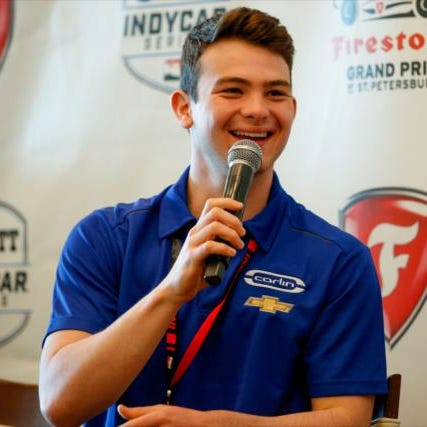 IndyCar rookie Patricio O'Ward will make his season Carlin Motorsports debut this weekend at Circuit of the Americas.