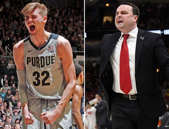 Purdue is a hard-luck 3 seed according to Gregg Doyel, while IU will finish in the NIT.
