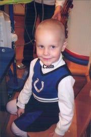 Caroline Symmes died at 5 of cancer.