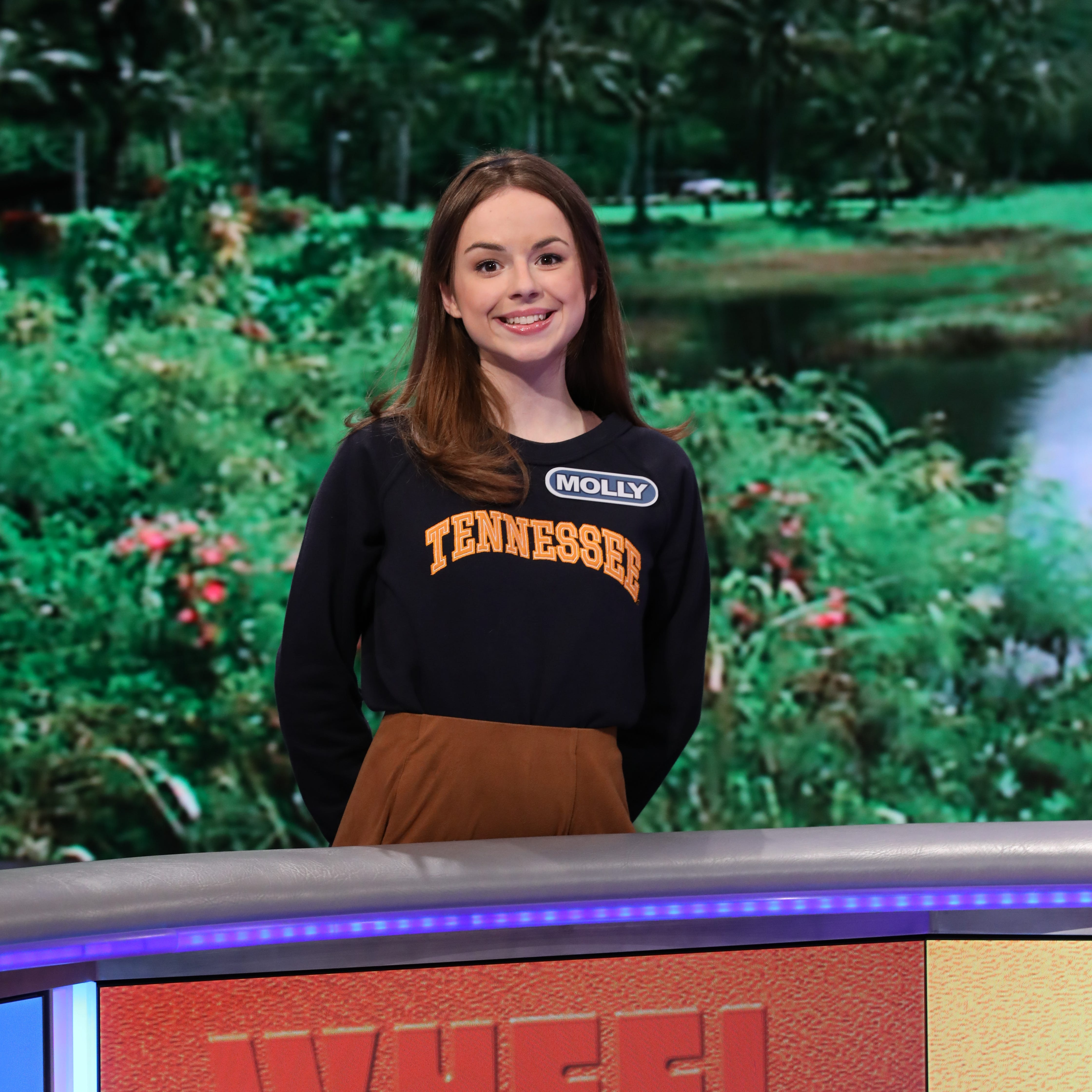 University of Tennessee student Molly Rodabaugh to compete on 'Wheel of Fortune'