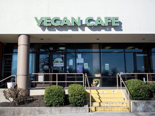 Sanctuary Vegan Cafe located at 151 N Seven Oaks Drive in West Knoxville.