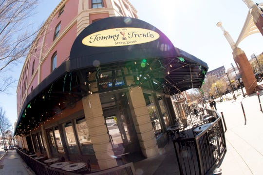 Tommy Trent's Sports Saloon is on Market Square in downtown Knoxville.