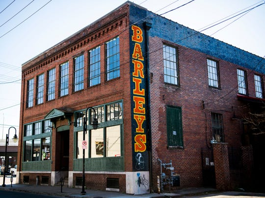 Barley's Taproom and Pizzeria located at 200 E. Jackson Ave. in Knoxville's Old City.