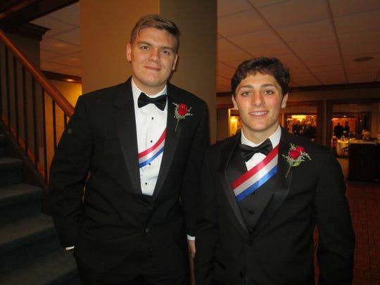 Gavin Babineaux and Edward Gaiennie