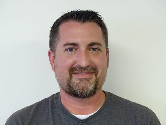 Fairfield Area Humane Society Executive Director Corey Schoonover