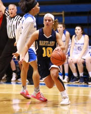 Hartland junior Nikki Dompierre is coming off a career-high 26-point performance in the regional championship game against Walled Lake Western.