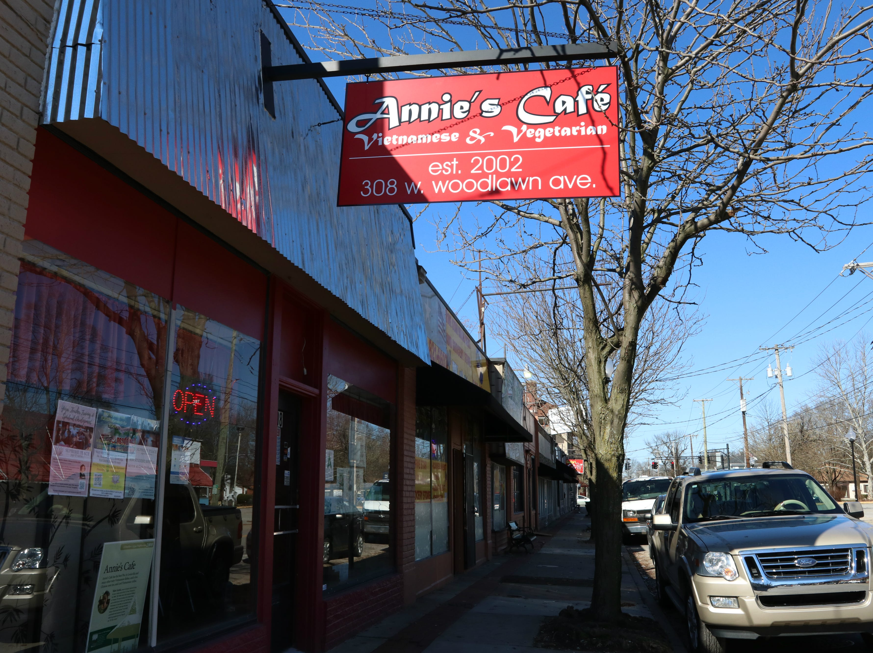 Annie's Cafe is a Vietnamese restaurant located on Woodlawn Avenue in Louisville's Beechmont neighborhood. 3/16/19
