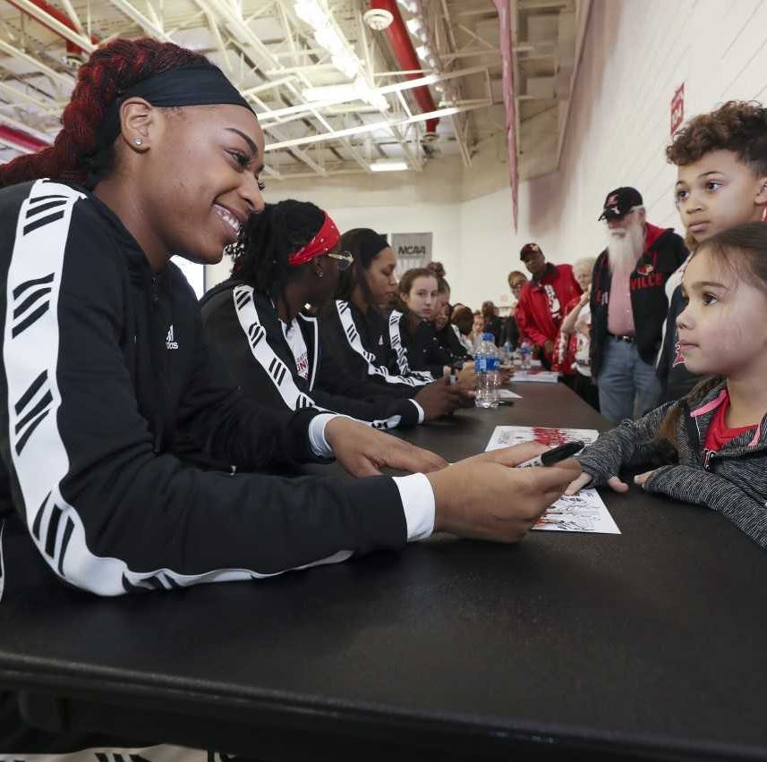 On an expected suspenseful day, U of L women's basketball gets good news early
