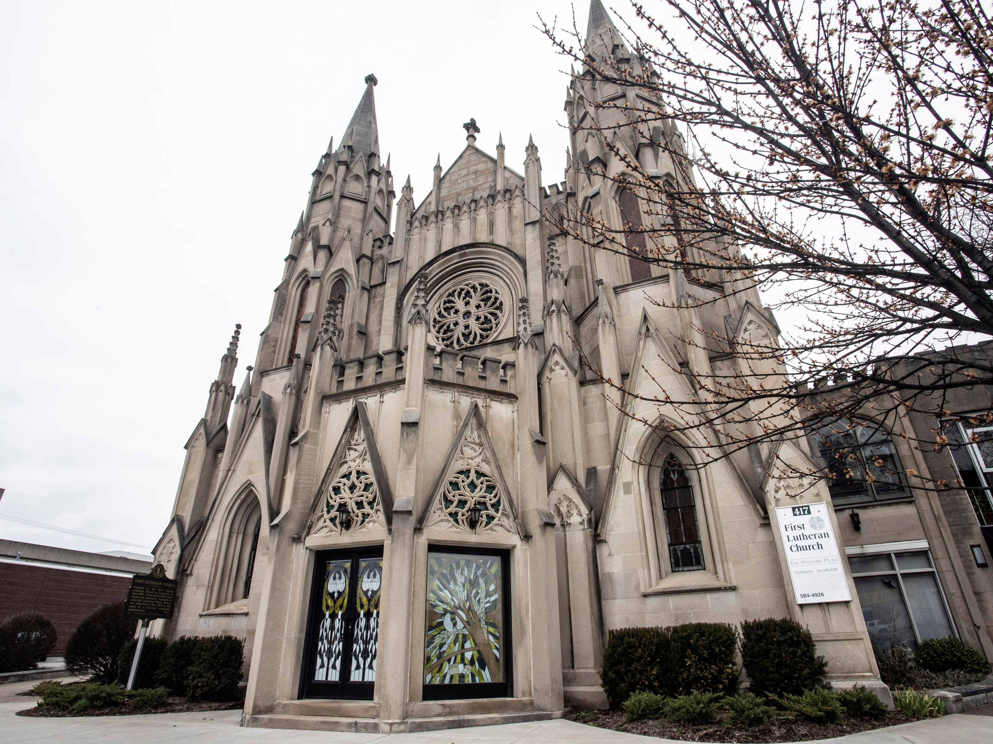 The First Lutheran Church at 417 East Broadway has a new occupant in the form of a LGBTQIA+ safe space created through a partnership between Leadership Louisville's Ignite Program and the Louisville Youth Group. 3/15/19