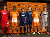 Lansing Ignite FC unveiled its home, away and goalkeeper jerseys for its first season in USL League One on Monday.