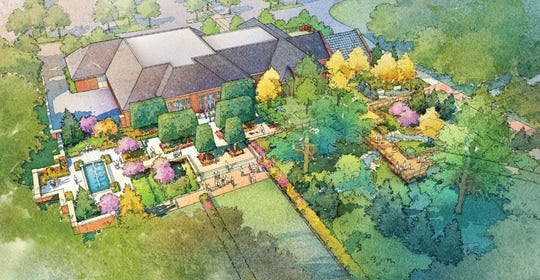 Kingwood Center Gardens will hold a ground-breaking ceremony at 1:30 p.m. April 4 on its  new Garden Gateway Center. The public is invited.